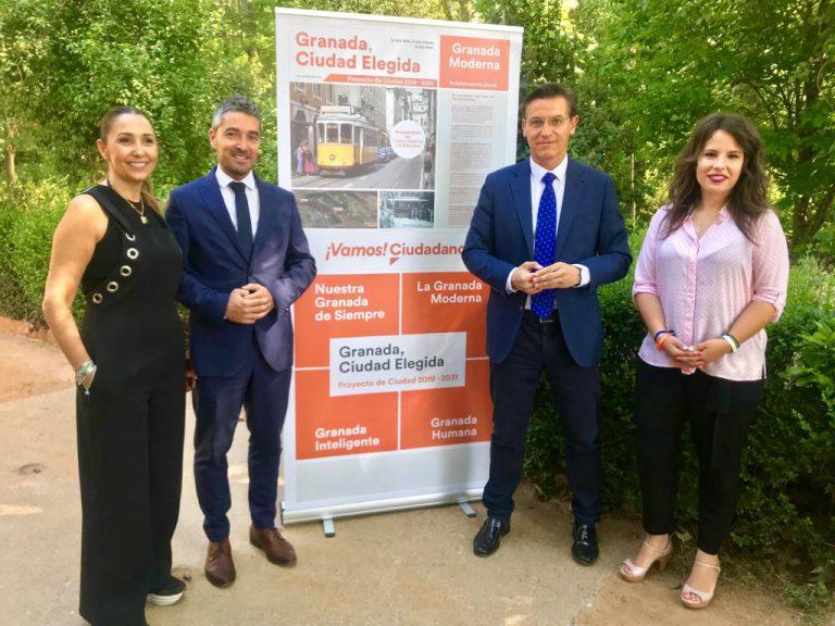 Elecciones 26M: Ciudadanos propone recuperar el tranvía histórico a la Alhambra