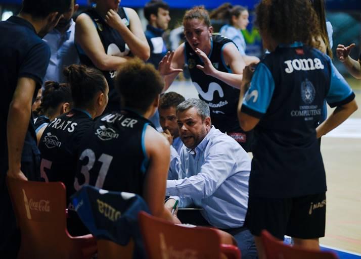 Alberto Ortego continuará en el equipo de Liga Femenina 2 de Movistar Estudiantes
