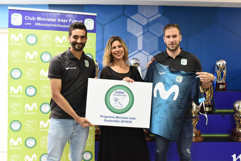 Movistar Inter FS pone en marcha el programa 'Inter Sostenible'