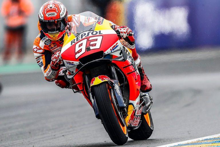 Márquez conquista Le Mans y afianza su liderato en MotoGP