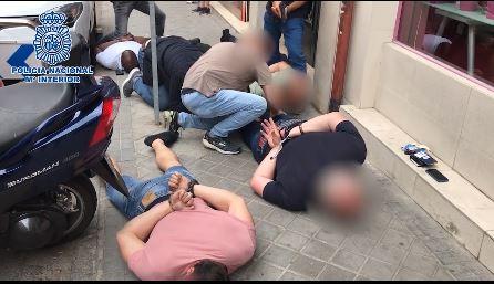 Así fue liberado un hombre que llevaba varios días secuestrando en Madrid