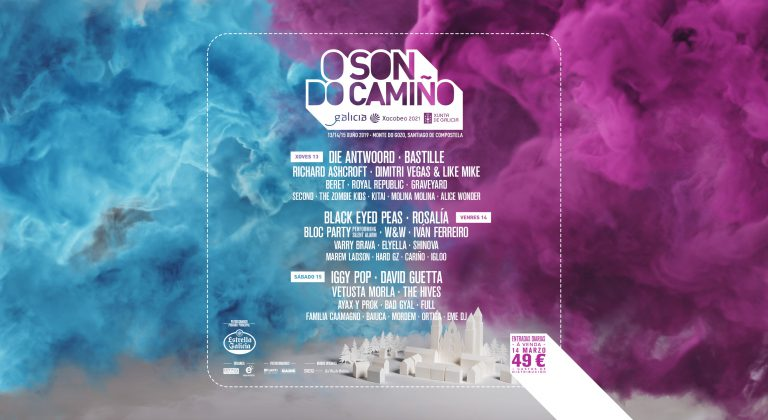 El Festival Musical O SON DO CAMIÑO llega el jueves al Monte do Gozo-Santiago de Compostela