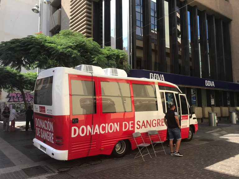 El ICHH acerca la donación de sangre a la población durante el mes de agosto·