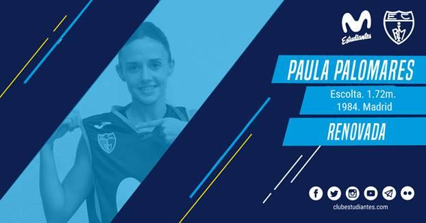 Paula Palomares, otra temporada con Movistar Estudiantes