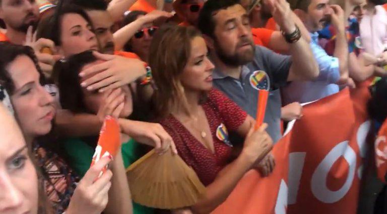 La Fiscalía de Madrid comienza la investigación sobre el escrache a Ciudadanos en el Orgullo