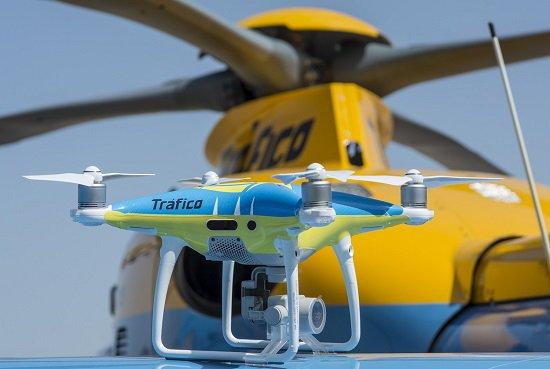 Tráfico pone en marcha la segunda 'operación salida' del verano con la ayuda de drones