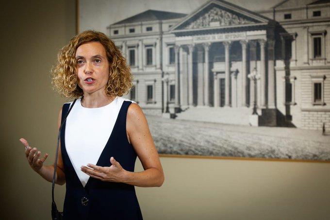 """Batet """"urge"""" a que haya nuevo Gobierno y destaca el """"acuerdo"""" en las comisiones"""