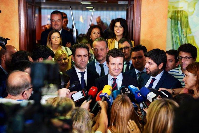 El PP cierra filas en torno a Casado para no abstenerse ante Sánchez