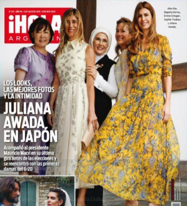 Revista Hola Argentina Julio 2019 Ponto Cruz Andreia