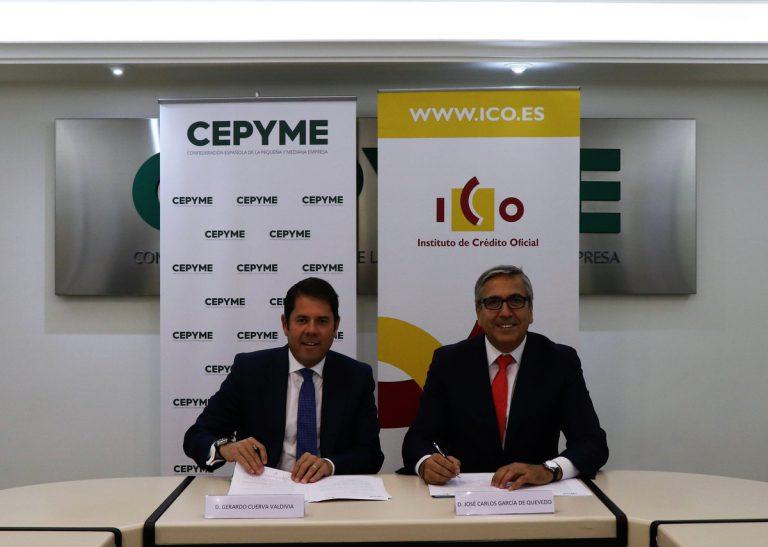 El ICO y Cepyme colaborarán en el apoyo al crecimiento empresarial a través de Cepyme500