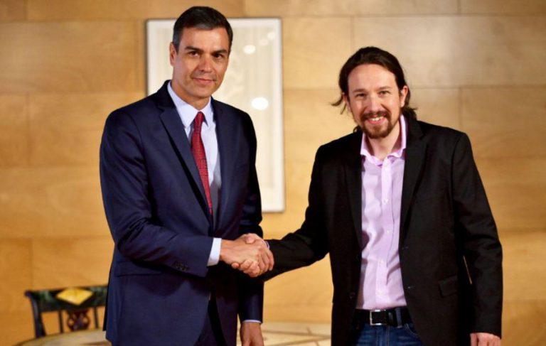 La renuncia de Iglesias a entrar en el Gobierno pilla a Sánchez preparando su discurso de investidura