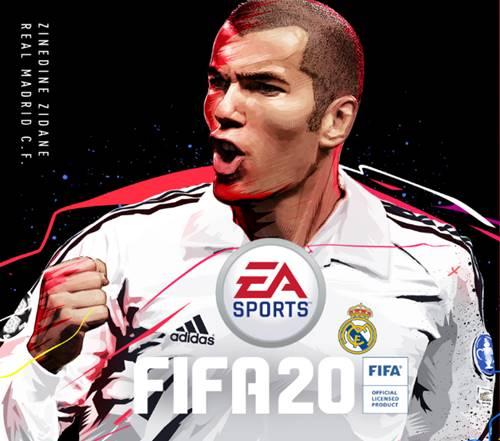 Zidane será la portada de la edición Ultimate de FIFA 20