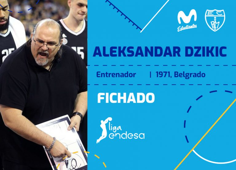 Aleksandar Džikic dirigirá al Movistar Estu