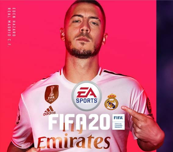 FIFA 20 tendrá como portada a Eden Hazard, fichaje estrella del Real Madrid