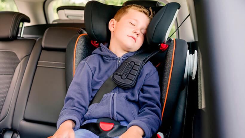 como afecta silla coche niños siniestros