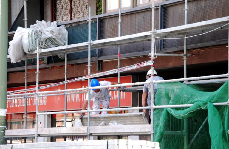 CCOO alerta del incremento de los accidentes laborales en la construcción