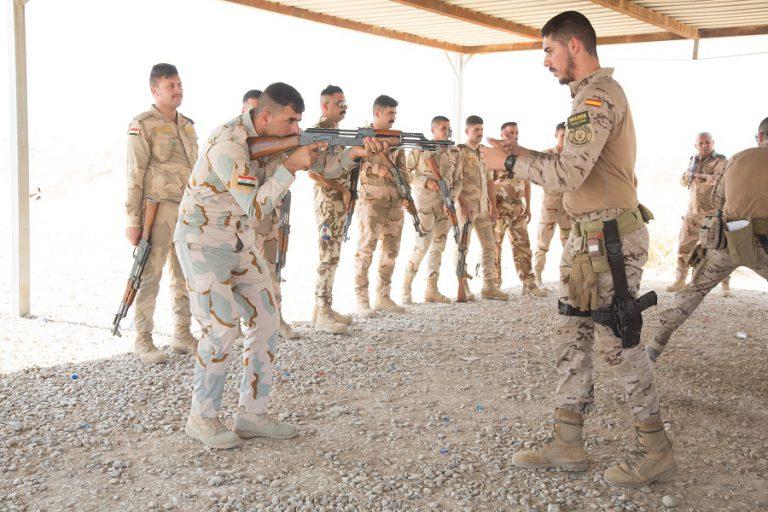 El X contingente desplegado en Irak alcanza el ecuador de su misión