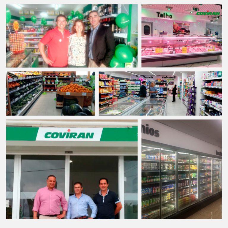 Covirán suma siete nuevos supermercados en Portugal