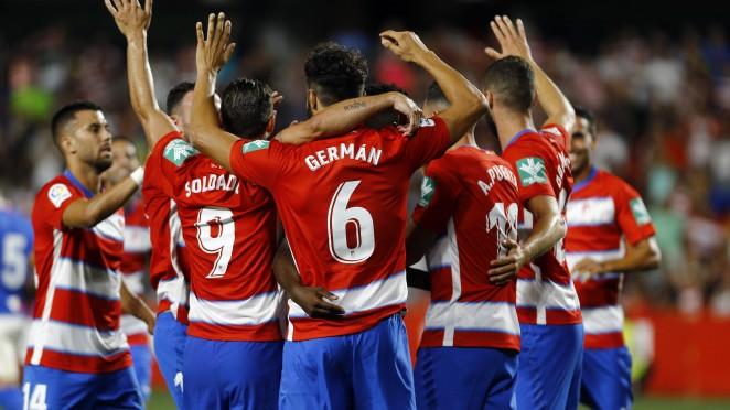 1-0. Un gol de Antonio Puertas mantiene al Granada arriba y hunde al Leganés