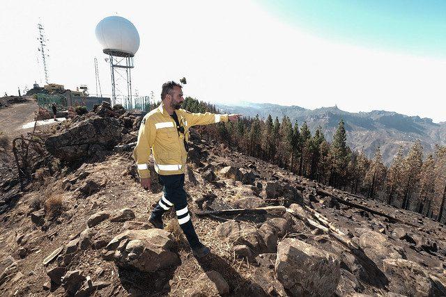 Resultado de imagen de Las quemas prescritas impidieron que los incendios de Gran Canaria amenazaran a 25.000 personas