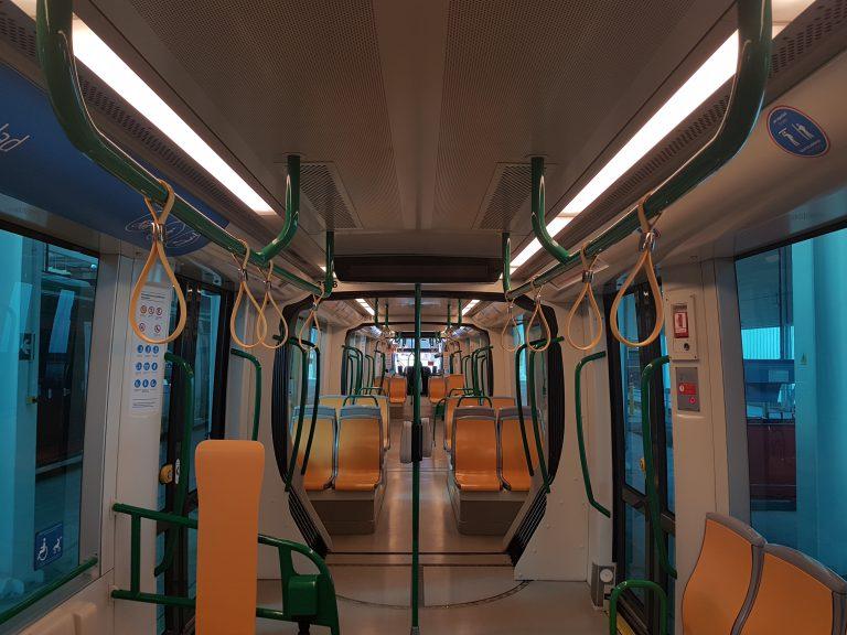 El Metro de Granada mejora la comodidad de sus usuarios