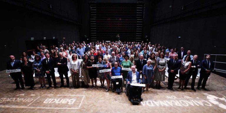 Bankia y CajaGranada Fundación entregan 250.000 euros a 81 asociaciones sin ánimo de lucro