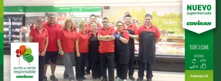 Covirán inaugura un nuevo supermercado en Cataluña