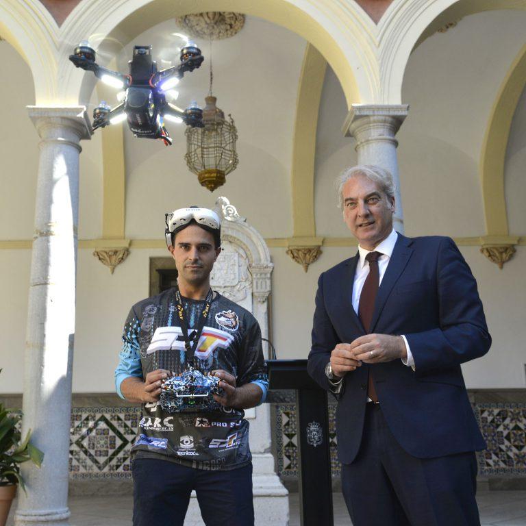 La Liga Ibérica de Drones aterriza este fin de semana en Granada
