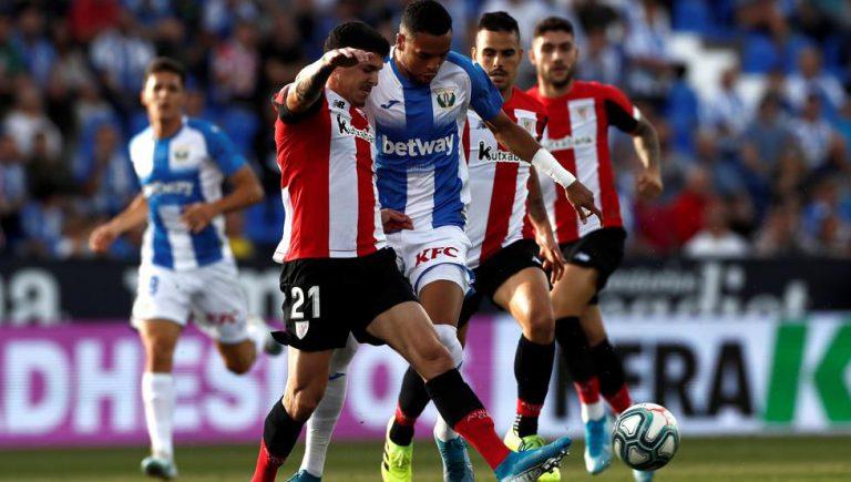 1-1. El Leganés evita el pánico en Butarque con un empate ante el Athletic