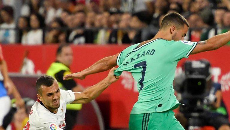 0-1. El Madrid gana al Sevilla con gol de Benzema