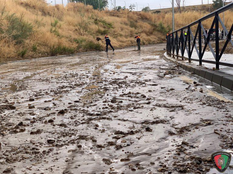 DANA: el temporal de lluvia deja 150 incidencias esta madrugada en Granada