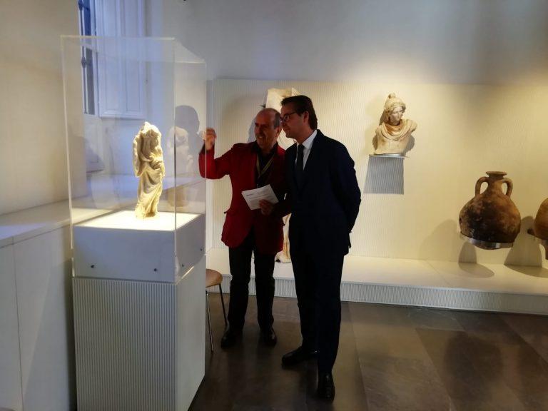 El museo Arqueológico oferta cuatro talleres didácticos y visitas guiadas
