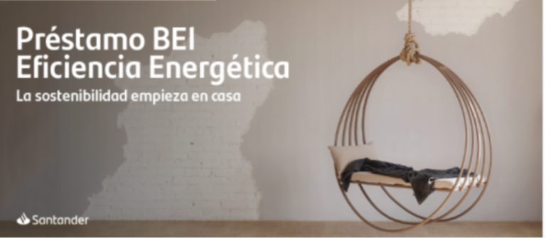 El Santander lanza préstamos personales para mejorar la eficiencia energética de tu casa