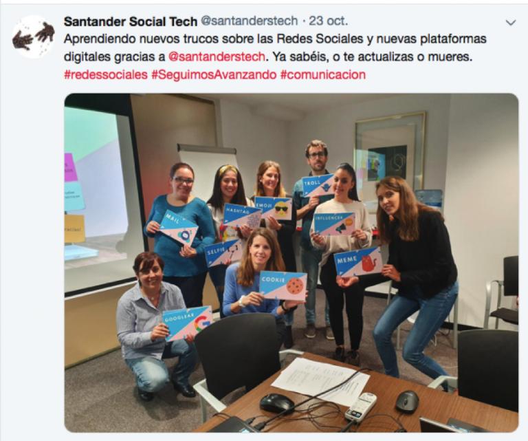 'Santander Social Tech', una iniciativa para promover la tecnología y la digitalización de las ONG