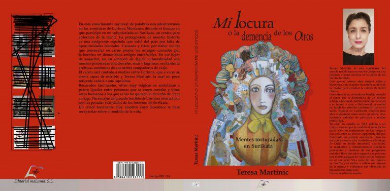 """""""Mi locura o la demencia de los otros"""", el libro de Teresa Martinic, se presenta el día 19"""