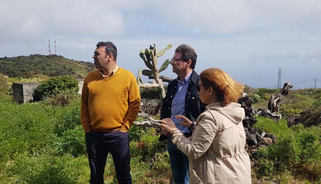 El Cabildo de La Palma contribuye a desarrollar la Finca de Formación Agroecológica de Tirimaga
