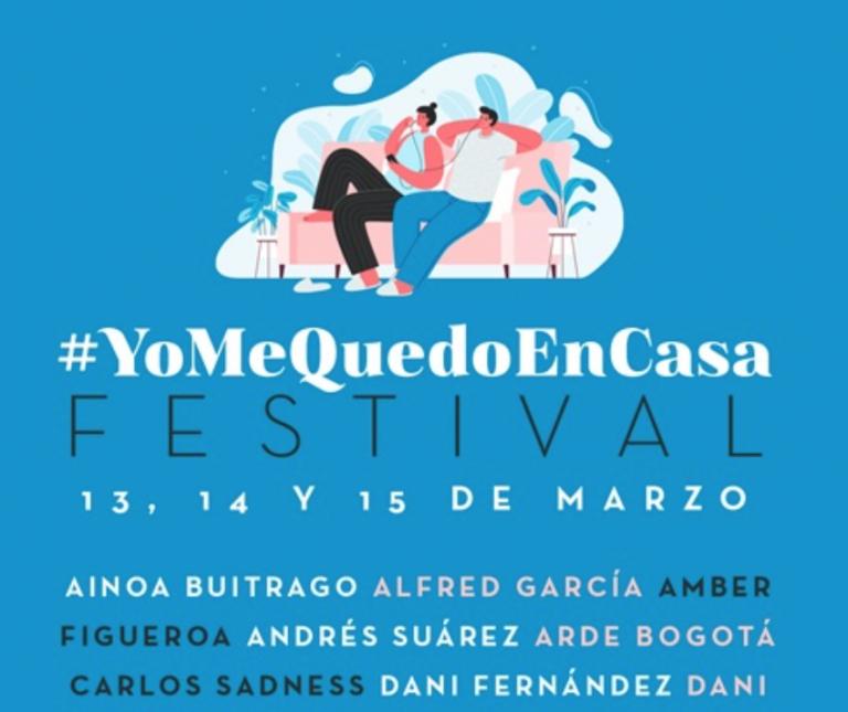 """Rozalén, Alfred, Funambulista… 40 artistas se vuelcan con el """"#Yo me quedo en casa festival"""" para combatir el coronavirus"""