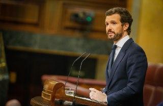 Casado espera que se llegue a un acuerdo en la UE y lamenta que Sánchez no se deje ayudar