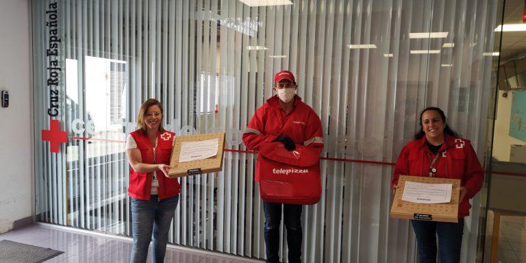 Telepizza colabora con la Cruz Roja