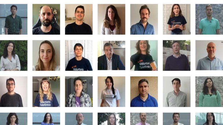 5.200 Empleados de Telefónica de España destinan más de  600.000 € de sus cheques comida a los Bancos de Alimentos