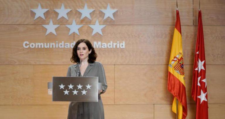 Ayuso considera que no es necesario, por ahora, hacer obligatorio el uso de la mascarilla en Madrid
