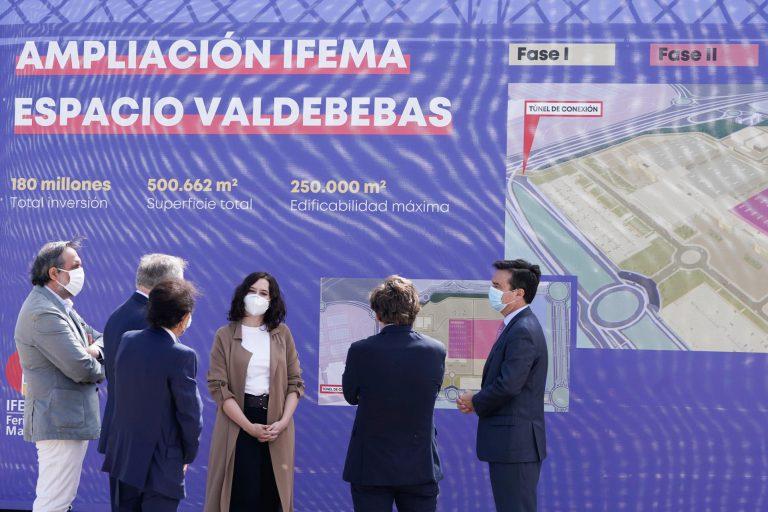 IFEMA inicia sus obras de ampliación Espacio Valdebebas