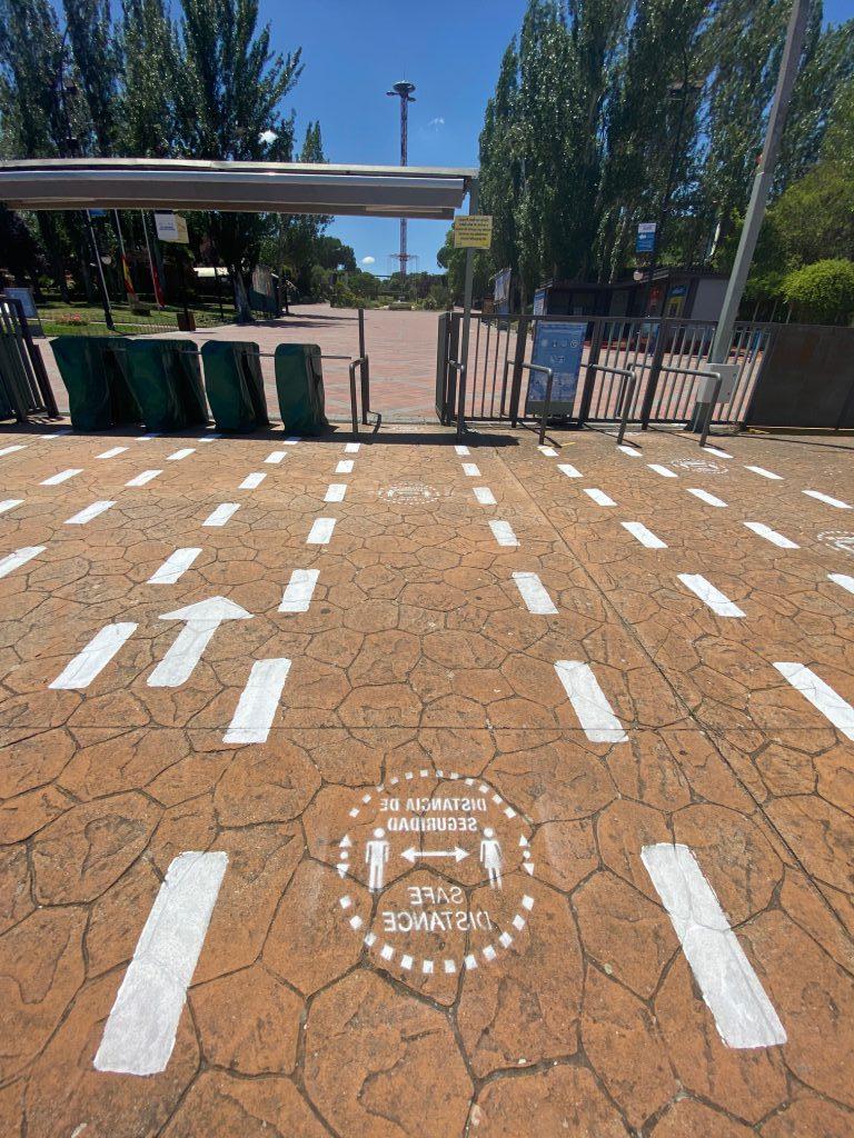 El lunes 22 de junio,  el Parque de Atracciones de Madrid reabre sus puertas, con un aforo del 50% de visitantes