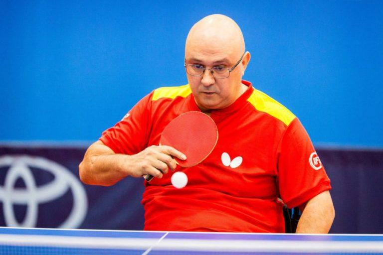 Miguel Rodríguez, el 'heavy' del tenis de mesa