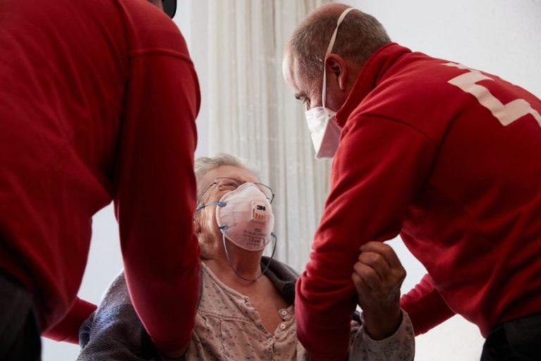 Cruz Roja pone en marcha medidas de emergencia frente a los rebrotes por Covid-19