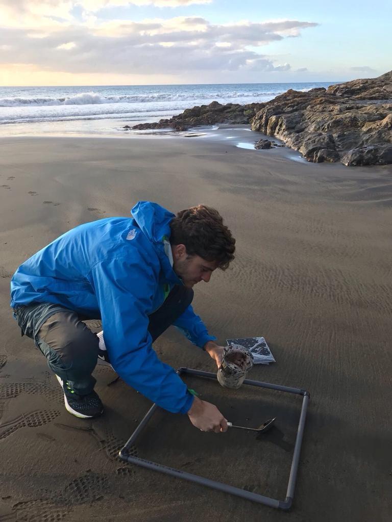 Dos Institutos Universitarios de la ULPGC colaboran y crean una herramienta para contar y clasificar automáticamente los microplásticos de las playas