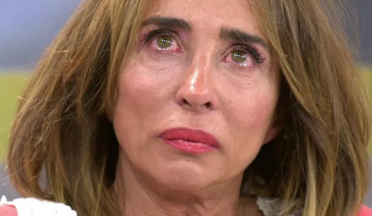 El enfado de María Patiño al enterarse de que venden unas mascarillas con su cara