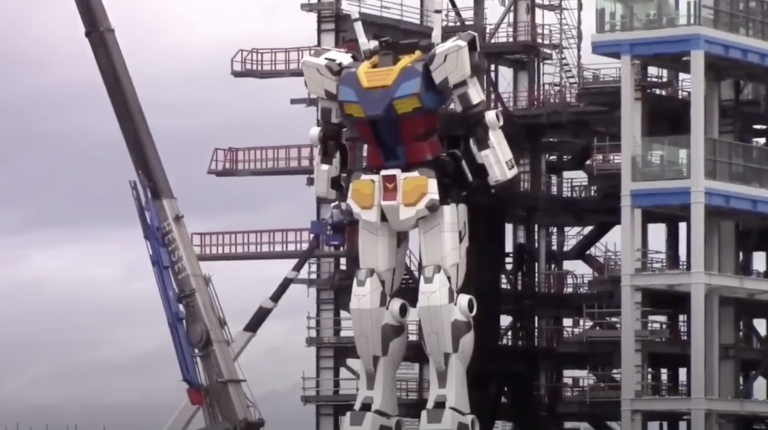 Japón construye un robot de 20 metros de altura capaz de caminar
