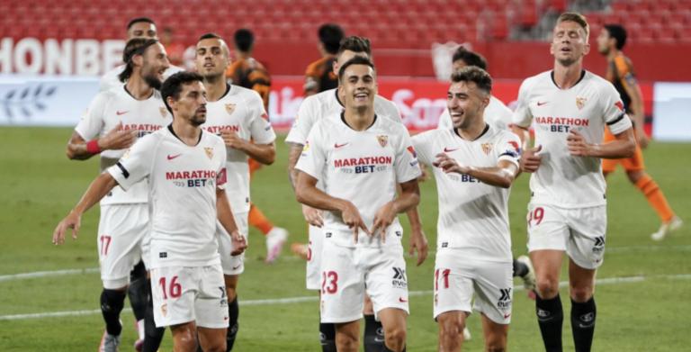El Sevilla comunica que un jugador de la primera plantilla ha dado positivo en coronavirus