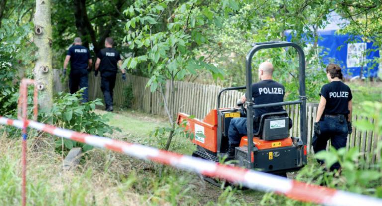 Caso Madeleine: la Policía de Alemania excava un jardín en Hanóver en busca de nuevas pistas